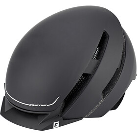 Cratoni C-Loom Helmet black-white rubber
